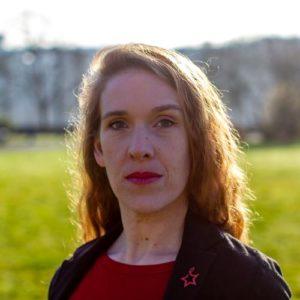Coralie Breuillé-Jean, candidate poitiers collectif