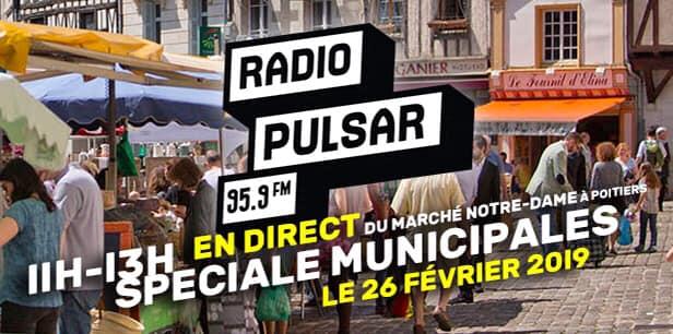 Débat Municipales - Radio Pulsar